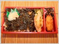 松前海苔弁当(650円)