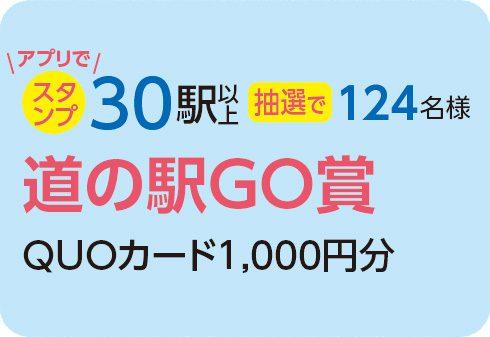 道の駅GO賞