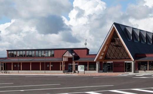 北欧の風道の駅とうべつ